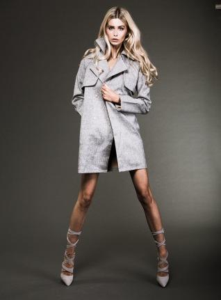 Model: Rebecca DeJong Stylist: Ben Williams Makeup Artist: Fiona Neal