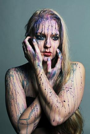 Model: Flo Clarke Make-up: Fiona Neal Photographer: Fiona Neal
