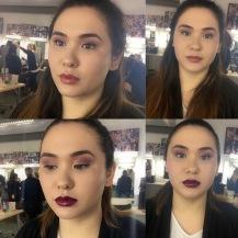 Natural make-up to Statement make-up