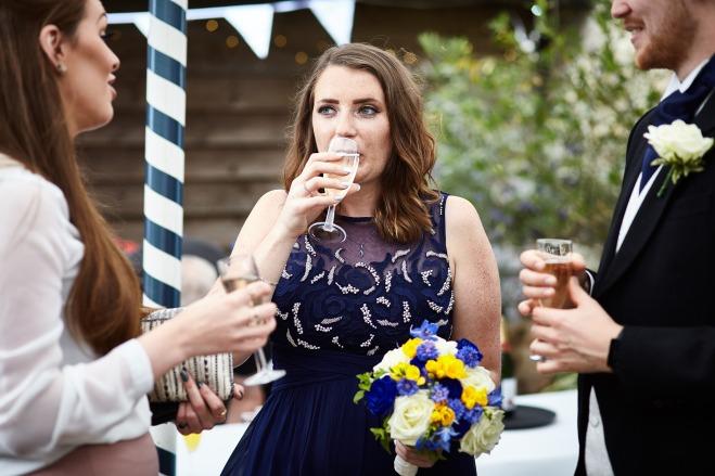 Bridesmaid Hair and Makeup: Fiona Neal