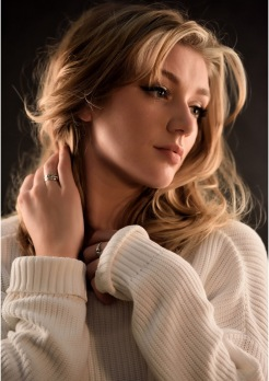 Model Fiona Neal | Photography Mark Ward | Makeup & Hair Fiona Neal